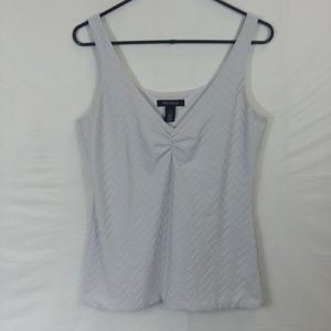 White house Black market textured tank